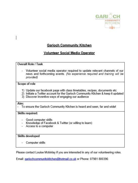 Social Media Operator Vacancy