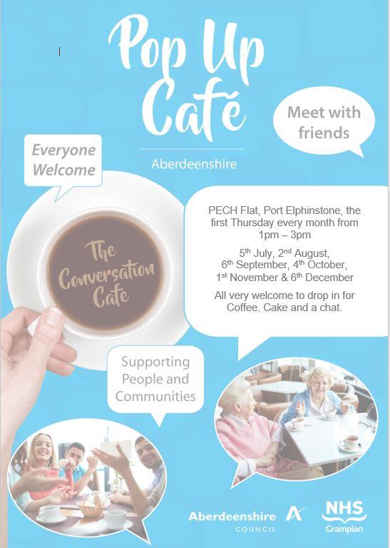Conversation Cafe PECH FLat 18
