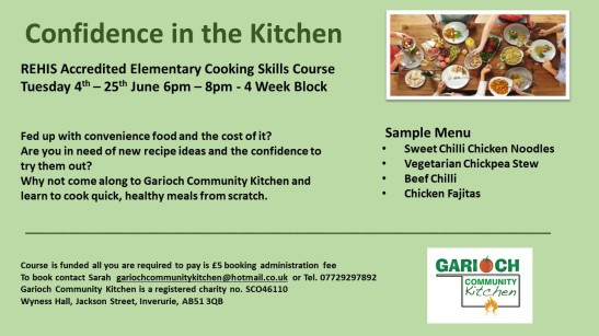 Confidence in the Kitchen June 19