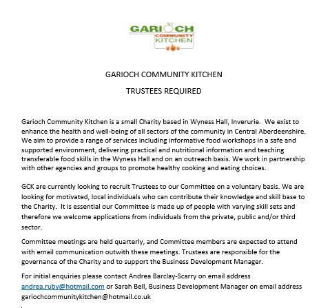 GCK Trustee Vacancy