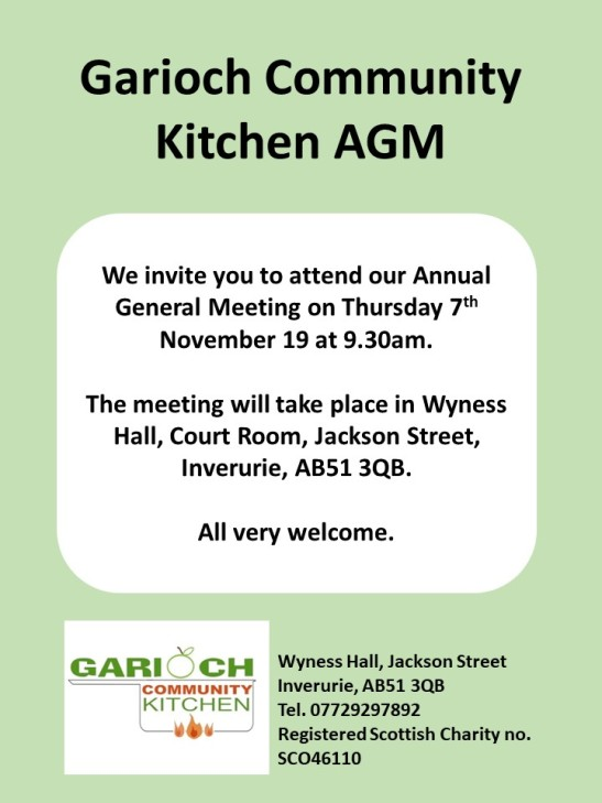AGM notice Nov 19