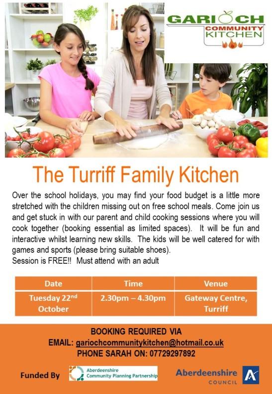 The Turriff Family Kitchen Oct 19
