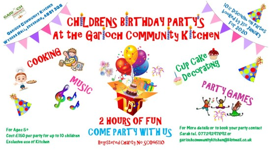 Childrens Birthday Poster 10 % discount