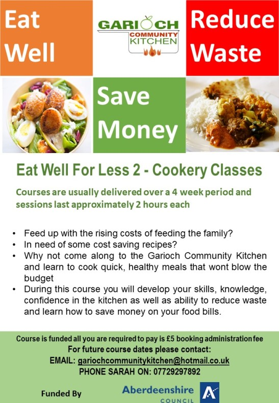 Eat Well For Less Cookery Classes 2 generic