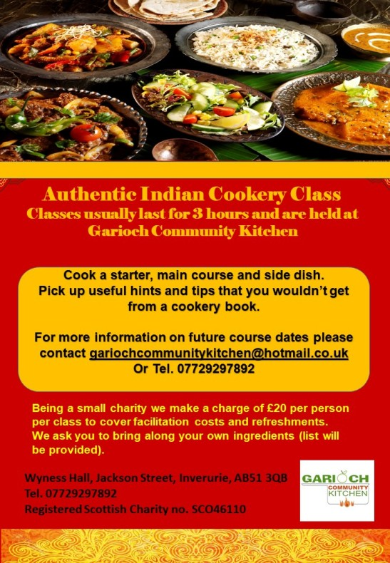 Indian Cooking Class generic