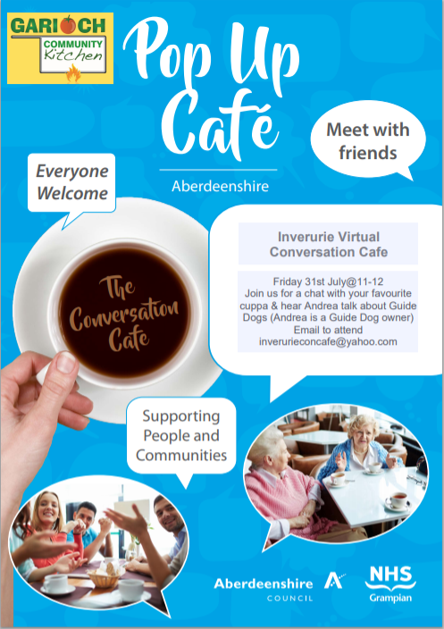 Virtual Cafe July 2020